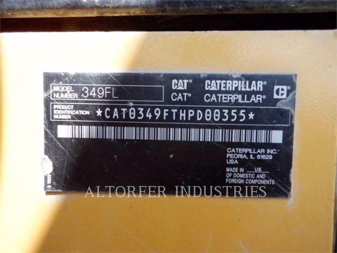 2015 CATERPILLAR 349F
