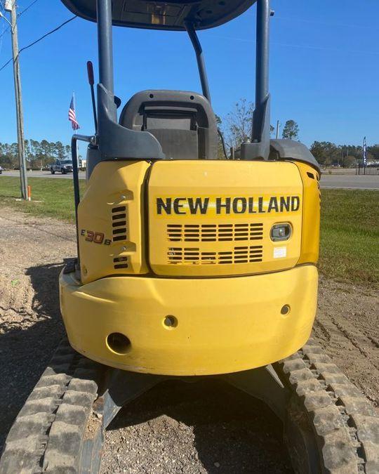 2016 NEW HOLLAND E30