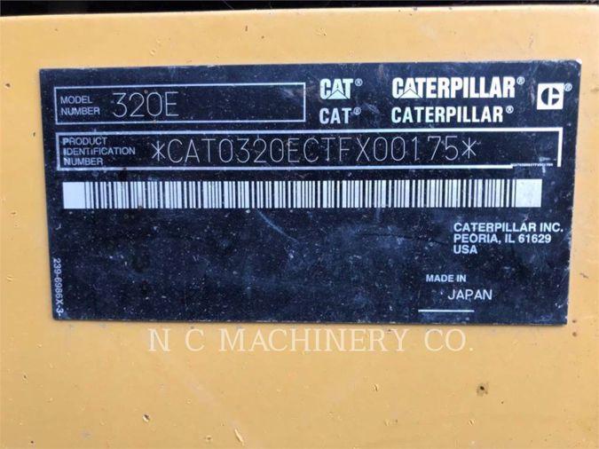 2012 CATERPILLAR 320E