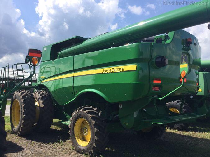 2012 JOHN DEERE S660