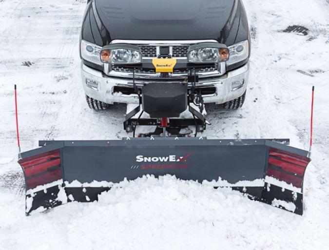 "SNOWEX SX01 SPEEDWING SNOW PLOW 8'7"" 13783142"