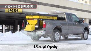SNOWEX SX16 SPREADER V-MAXX SP 7550 1.5 CU. YRD