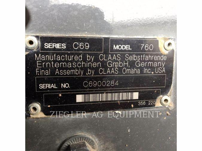 2014 CLAAS 760