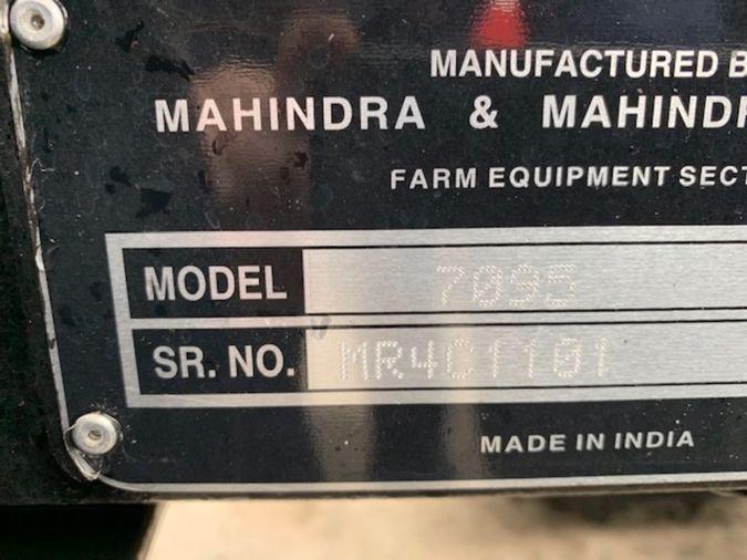 2019 MAHINDRA 7095