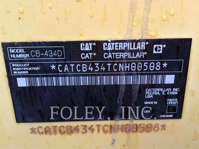 2006 CATERPILLAR CB-434