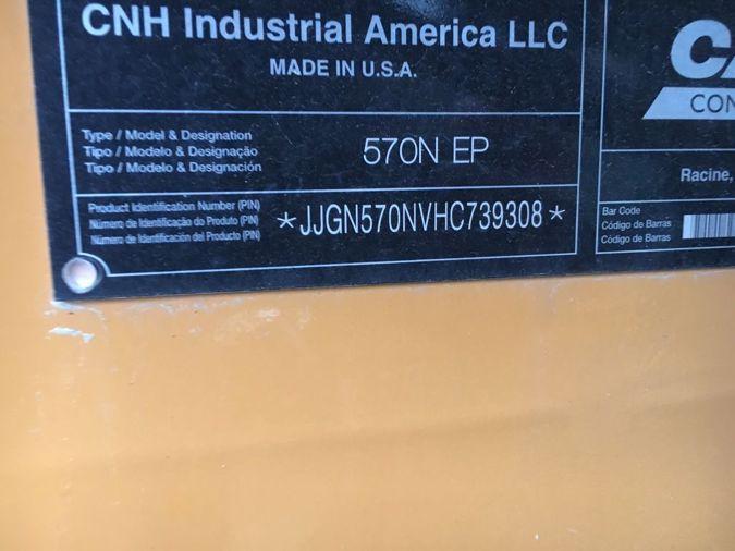 2018 CASE 570N