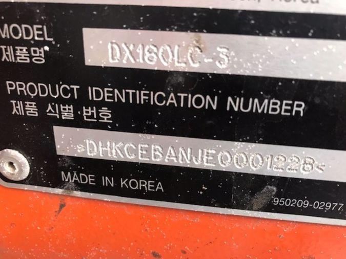 2014 DOOSAN DX180