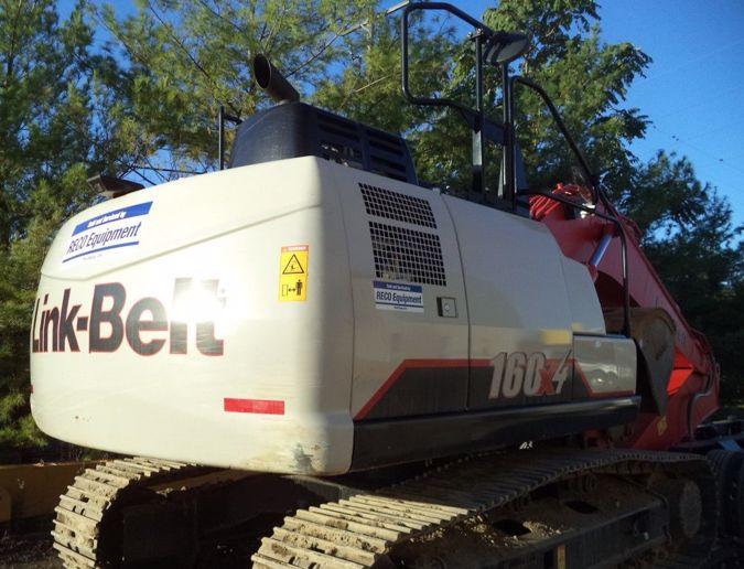2017 LINK-BELT 160