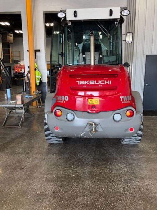 2017 TAKEUCHI TW80