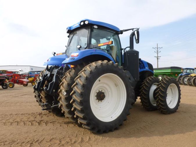 2019 NEW HOLLAND T8.410