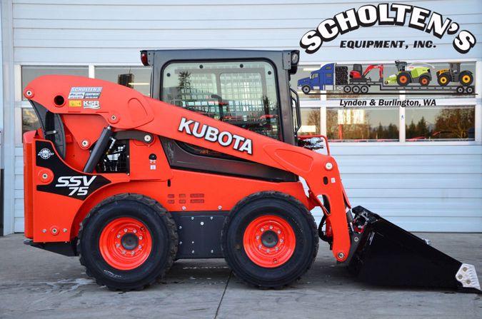 2021 KUBOTA SSV75 13996505