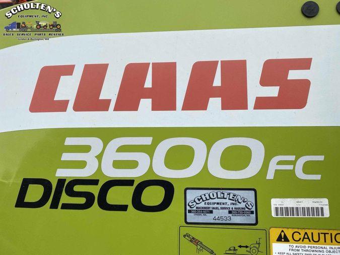 2018 CLAAS DISCO 3600