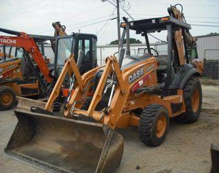 2012 Case Construction 580N