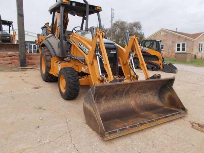 2013 Case Construction 580N 4A 74207611