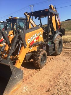 2018 Case Construction 580N